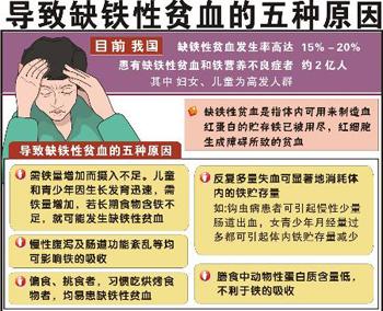 预防缺铁性贫血